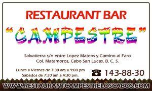 Campestre Restaurant